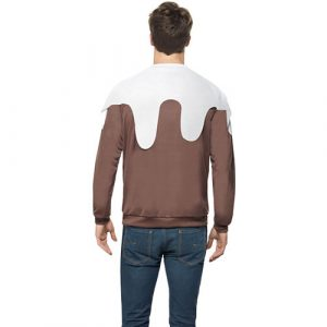 Pull homme Christmas Pudding dos