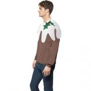 Pull homme Christmas Pudding profil