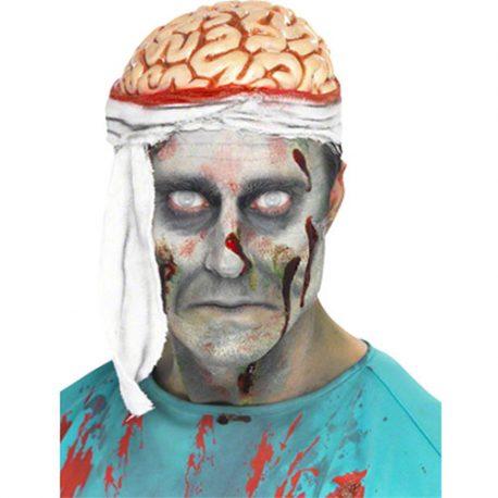 Chapeau cervelle apparente bandage