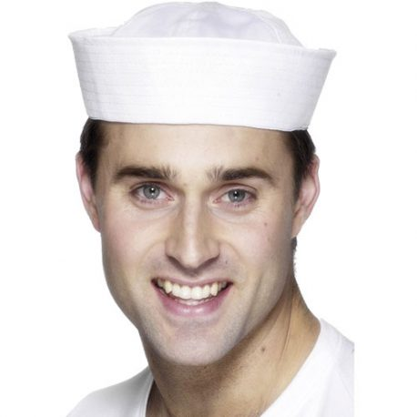 Chapeau bob marin blanc