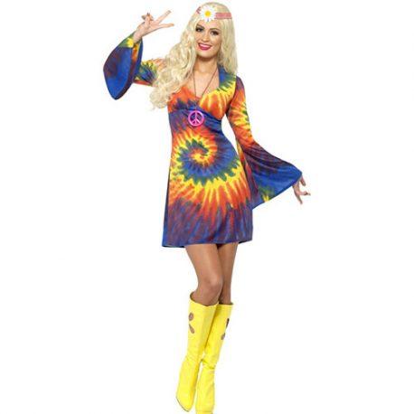 Costume femme 1960 psychédélique