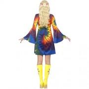 Costume femme 1960 psychédélique dos
