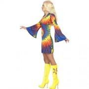 Costume femme 1960 psychédélique profil