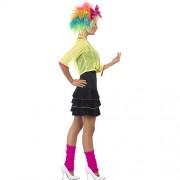 Costume femme 80s pop party profil