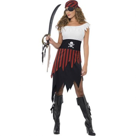 Costume femme piraterie abordage