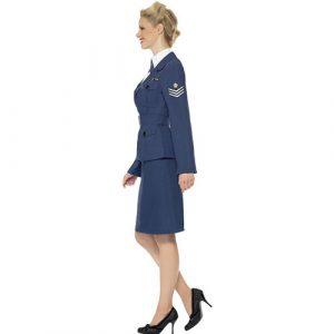 Costume femme Air Force seconde guerre mondiale profil