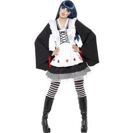 Costume femme Alice gothique