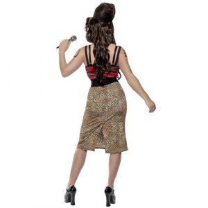 Costume femme Amy star dos