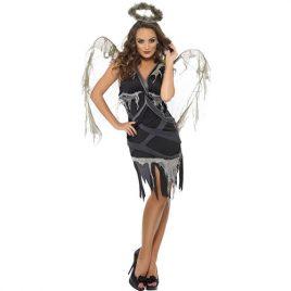 Costume femme ange noir déchu