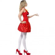Costume femme Angry Birds profil