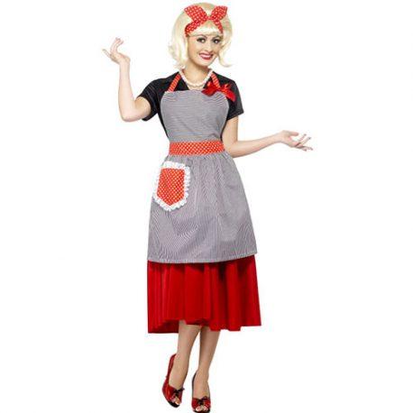 Costume femme kit années 50 femme de maison