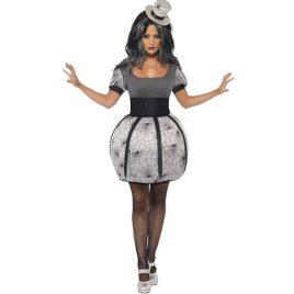 Costume femme araignée burlesque
