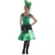 Costume femme Authentic Western danseuse de saloon dos