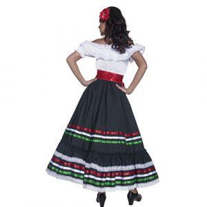 Costume femme Authentic Western Senorita dos