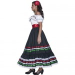 Costume femme Authentic Western Senorita profil