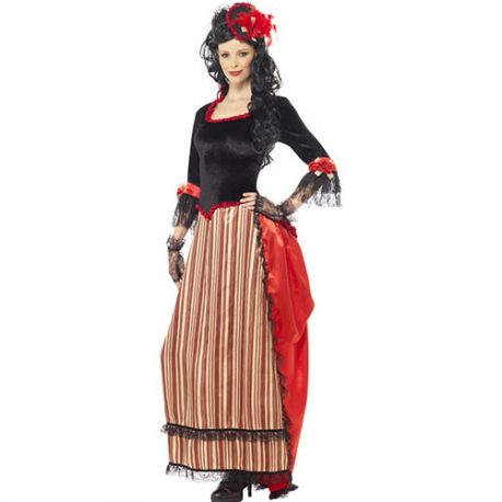 Costume femme Authentic Western tenancière