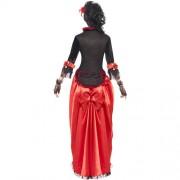 Costume femme Authentic Western tenancière dos