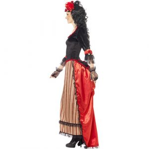 Costume femme Authentic Western tenancière profil