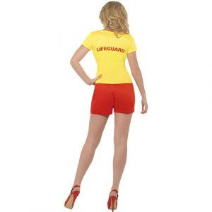 Costume femme baywatch dos