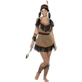 Costume femme beauté amérindienne