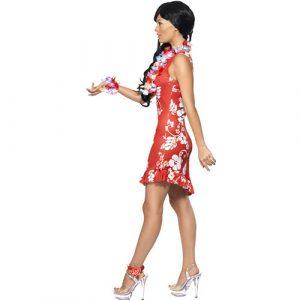 Costume femme beauté hawaïenne profil