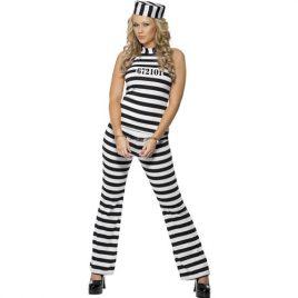 Costume femme belle détenue