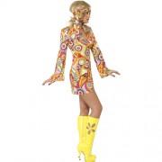 Costume femme belle hippie 1960 profil