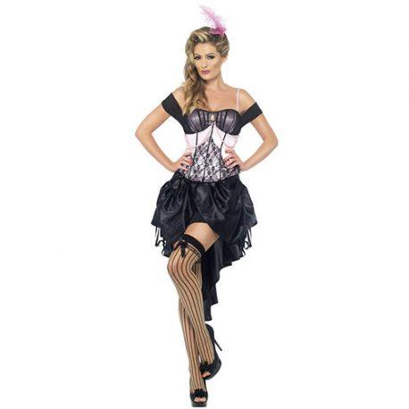 Costume femme burlesque Madame Amour