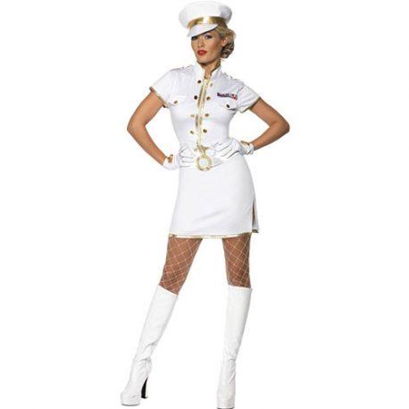 Costume femme capitaine de marine