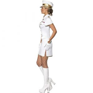 Costume femme capitaine de marine profil