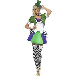 Costume femme miss chapelière