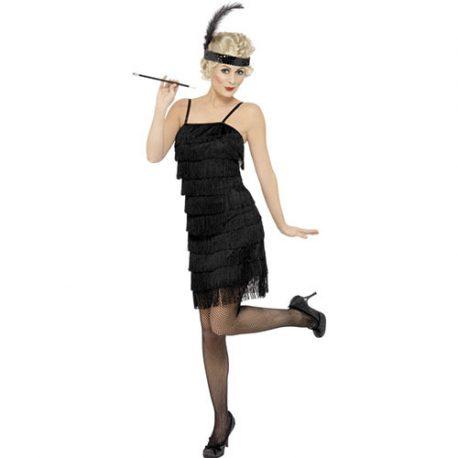 Costume femme charleston décalé