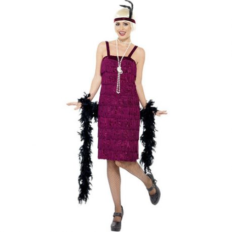 Costume femme charleston jazzy