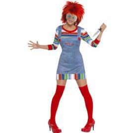 Costume femme Chucky poupée
