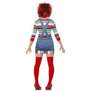 Costume femme Chucky poupée dos