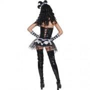 Costume femme cirque sinistre Arlequine dos