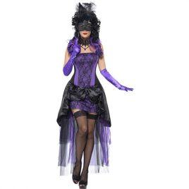Costume femme comtesse château gothique