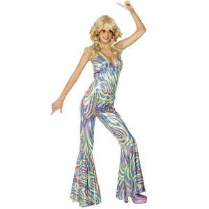 Costume femme dancing queen profil