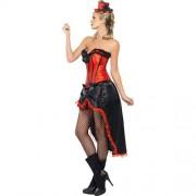 Costume femme danseuse cabaret burlesque profil