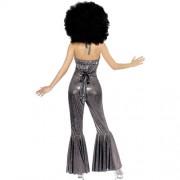 Costume femme disco diva dos