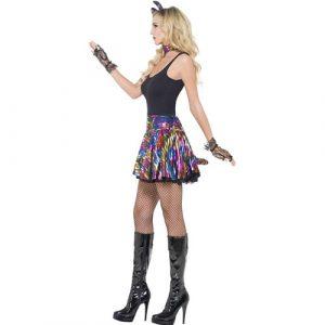 Costume femme disco party minette profil
