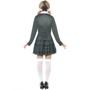Costume femme écolière bcbg dos