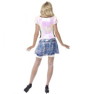 Costume femme écolière bling bling dos