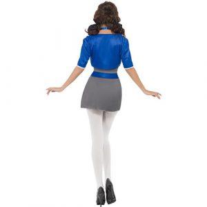 Costume femme écolière sexy dos