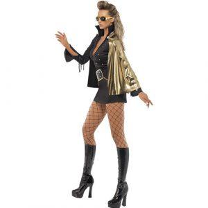 Costume femme Elvis show profil