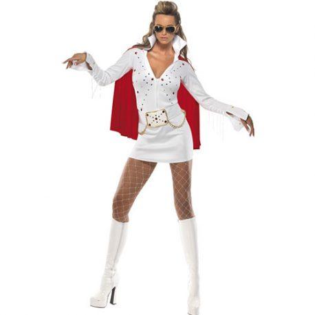 Costume femme Elvis viva Las Vegas