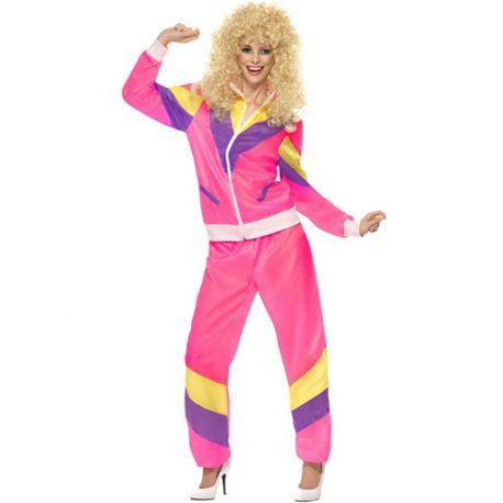 Costume femme fashion jogging années 80