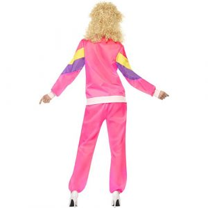 Costume femme fashion jogging années 80 dos