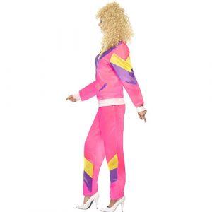 Costume femme fashion jogging années 80 profil