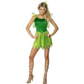 Costume femme fée des bois sexy